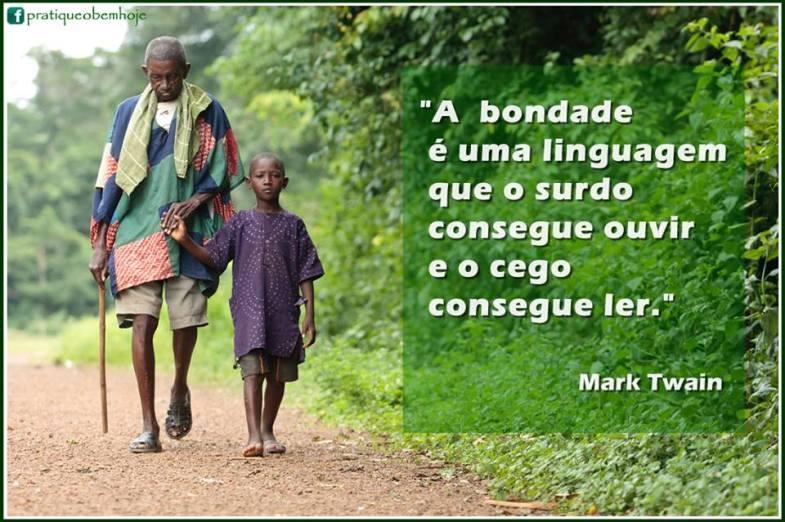 A bondade é uma linguagem