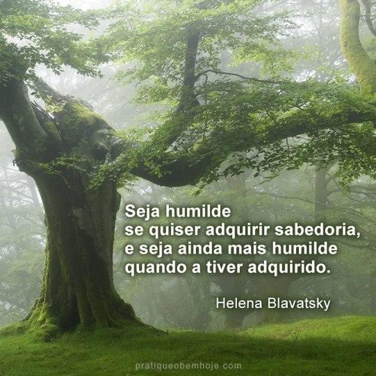 Seja humilde se quiser adquirir sabedoria