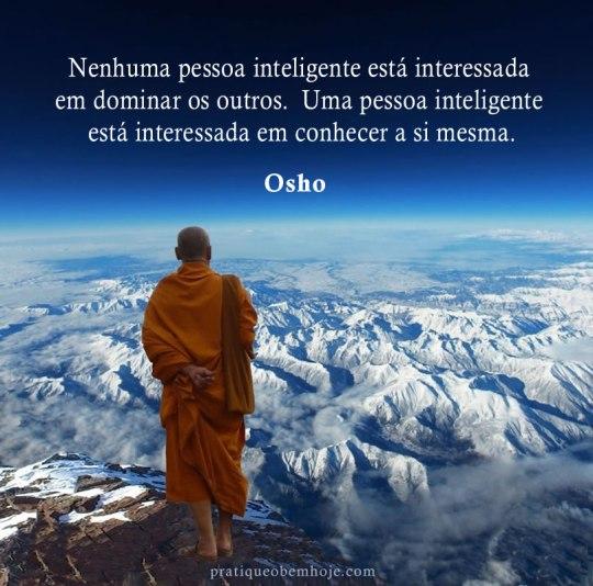 Nenhuma pessoa inteligente está interessada em dominar os outros