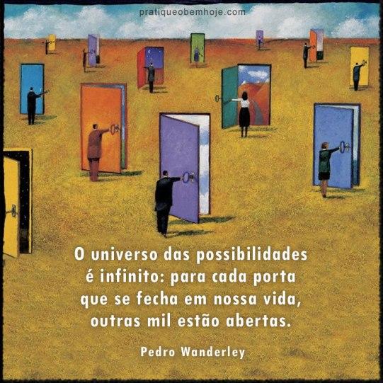 O universo das possibilidades é infinito