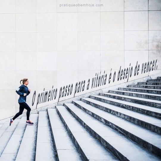 O primeiro passo para a vitória é o desejo de vencer
