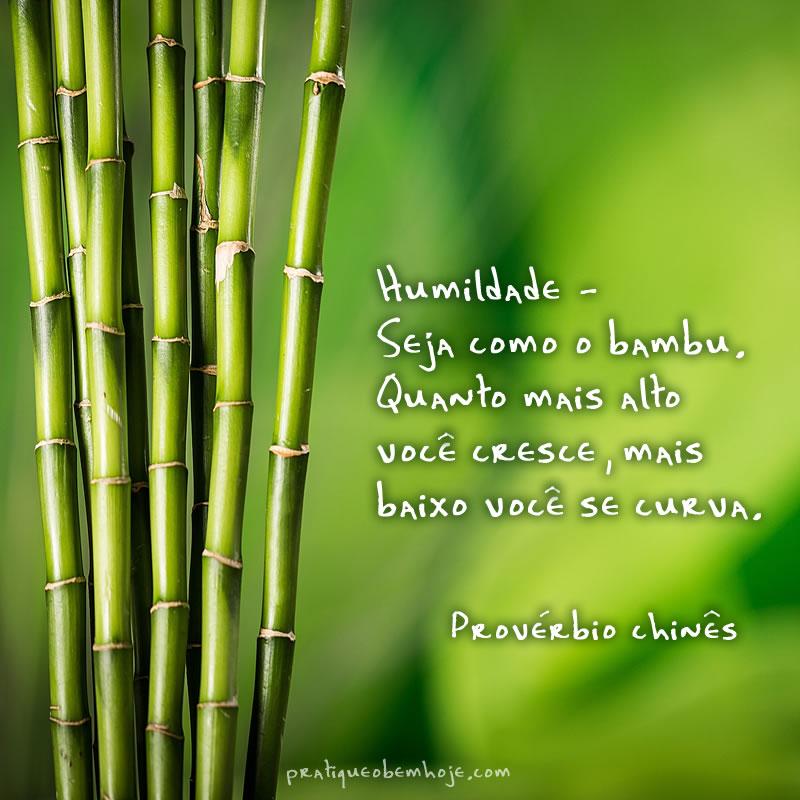 Seja como o bambu